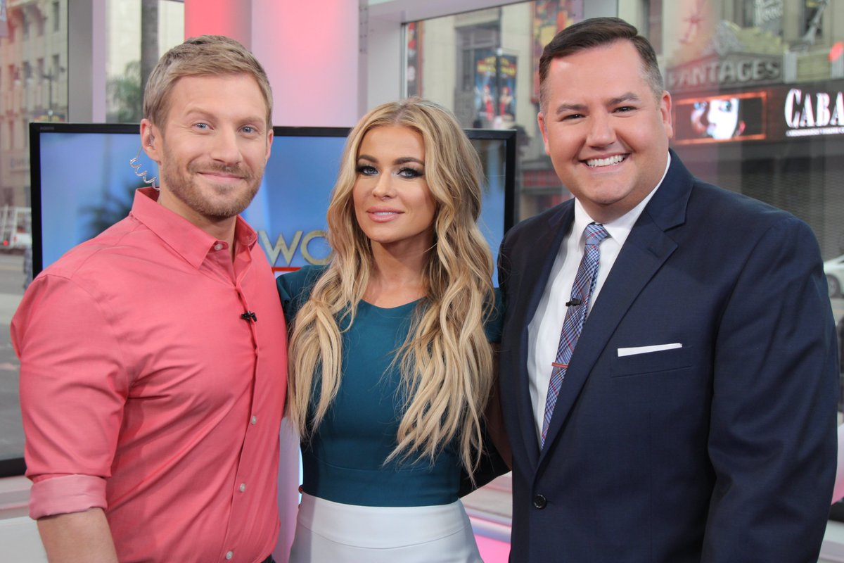 RT @OfficialHTL: What. A. Blast. Thanks for coming by, @carmenelectra, @GizelleBryant, @KARENHUGER, @_AshleyDarby & @ChefAshleyInc! https:/…