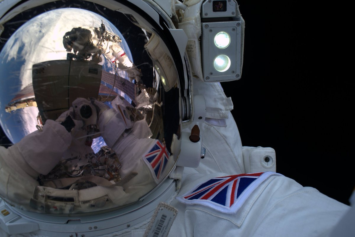 Briton Tim Peake's historic ISS spacewalk is cut short