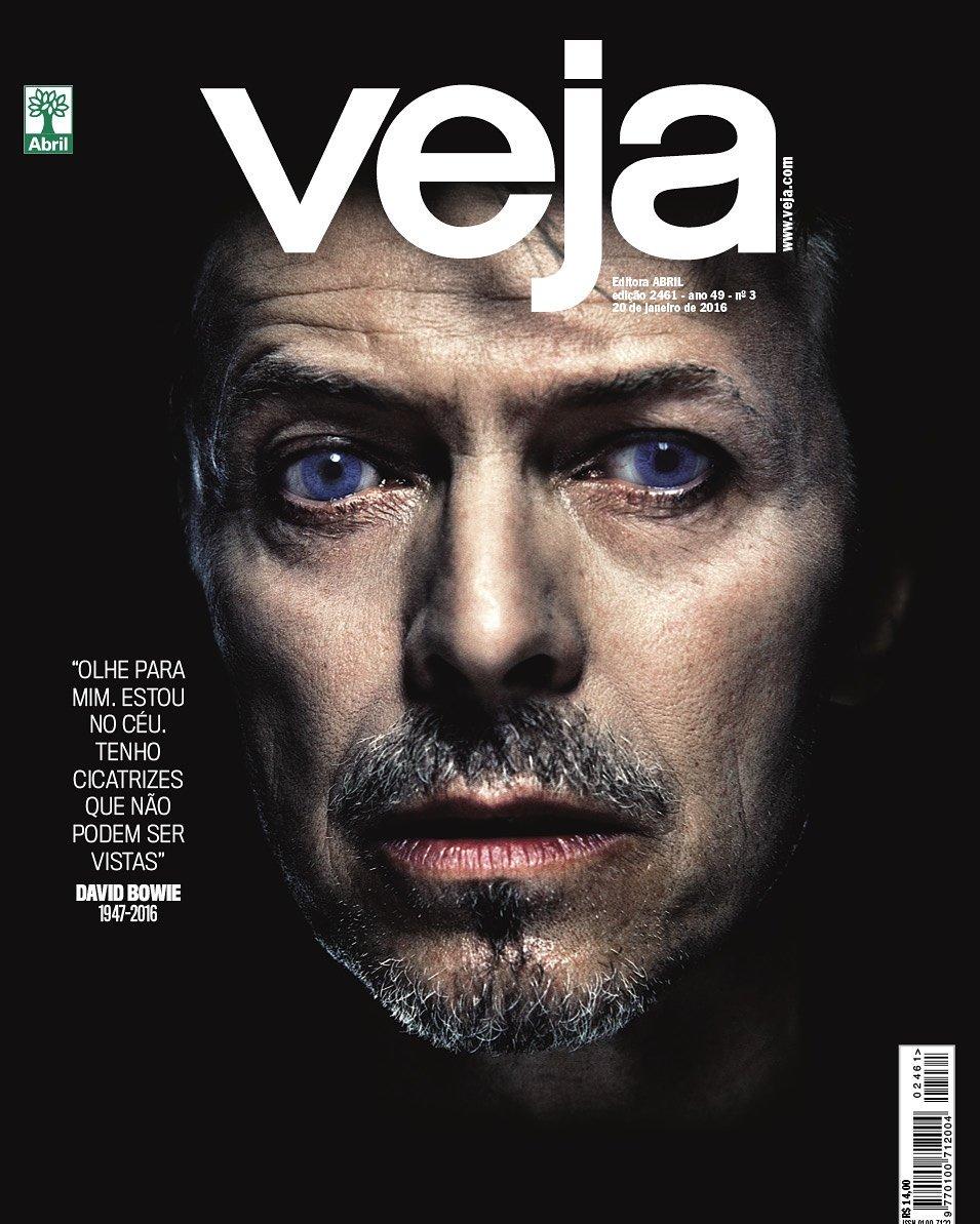 Em Veja desta semana,  doze capas dedicadas a David Bowie. As primeiras quatro estão aqui https://t.co/EGaCpJY7KP