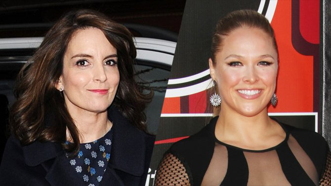 Tina Fey and Ronda Rousey to star in