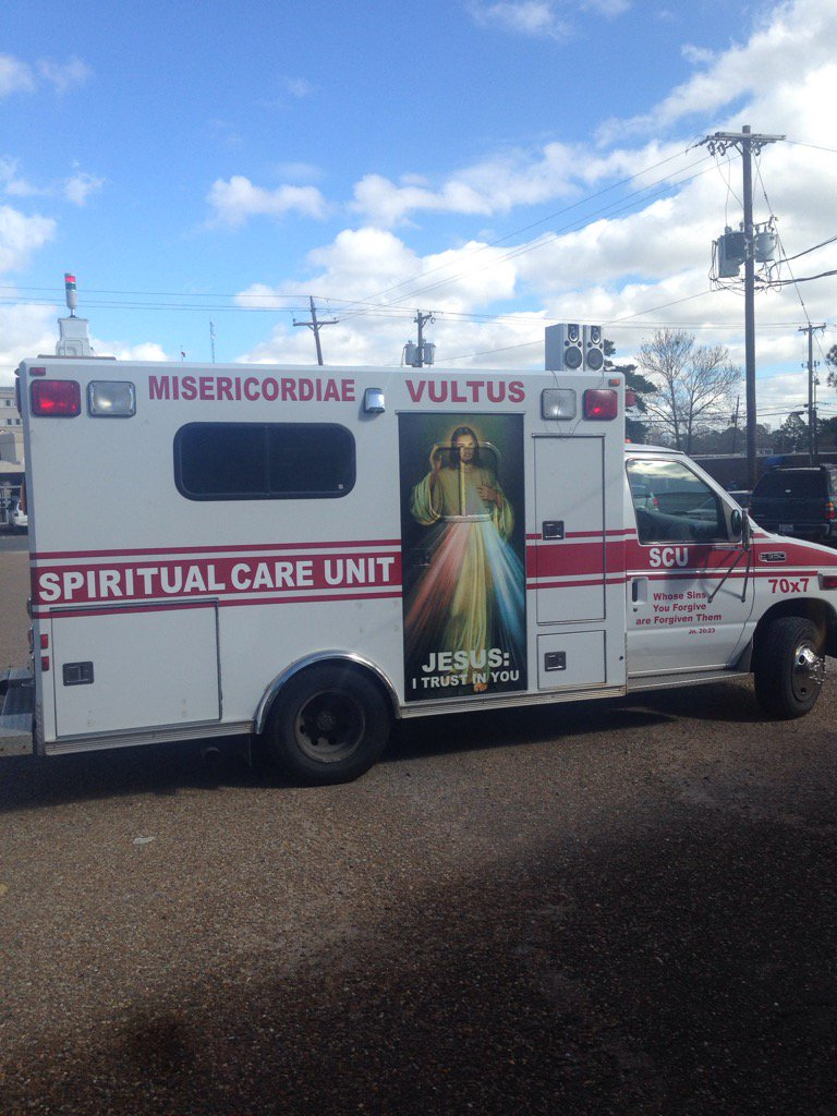 It is real...The Mobile confessional. #mercycomestoyou https://t.co/4QqFFkDTgI