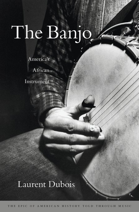 """My book """"The Banjo: America's African Instrument"""" is coming out 3/1. https://t.co/oIMzT49WH0 Here's the cover! https://t.co/y4LCouDYVu"""