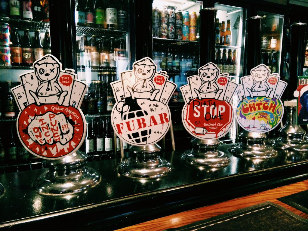 Enjoy a taste of the Welsh with these great beers from @tinyrebelbrewco #Tryanuary #GoodIdea #Beer #Pimlico https://t.co/3UOA673Udh