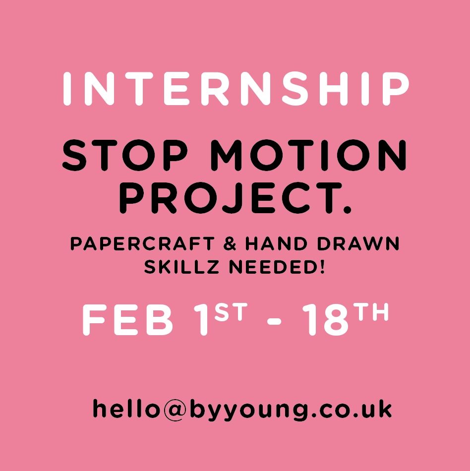 Please RT! #internship #animation #stopframe #manchester #papercraft #handdrawn https://t.co/9hMwoIsCIE