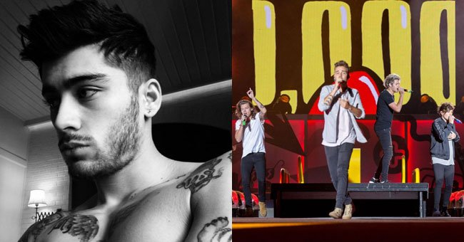 Zayn Malik just revealed one *whopper* of a secret about One Direction's early years...