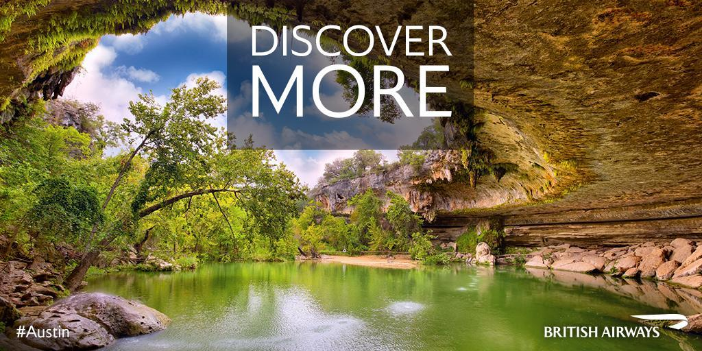 Drop out and dip in to one of Austin's several swimming holes.