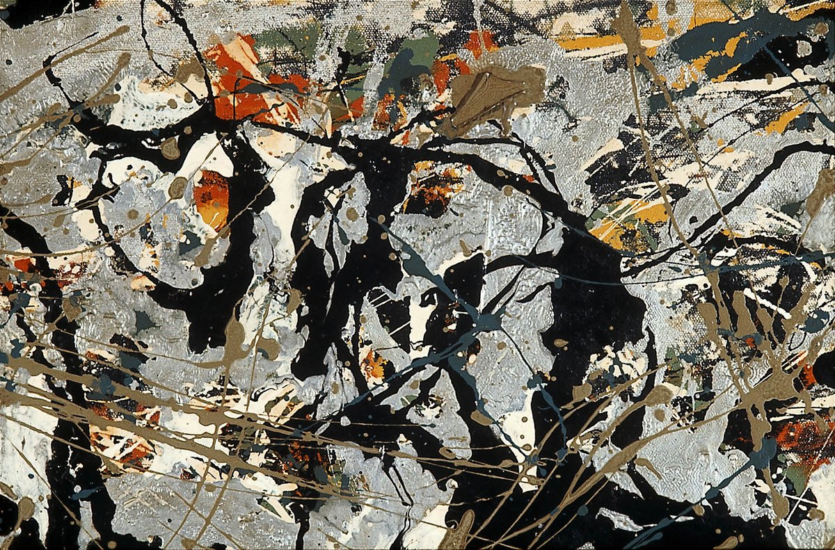 "Jackson Pollock, who revolutionized abstract art with his passionate ""drip"" paintings, was born #onthisday in 1912. https://t.co/T057eIIv6I"