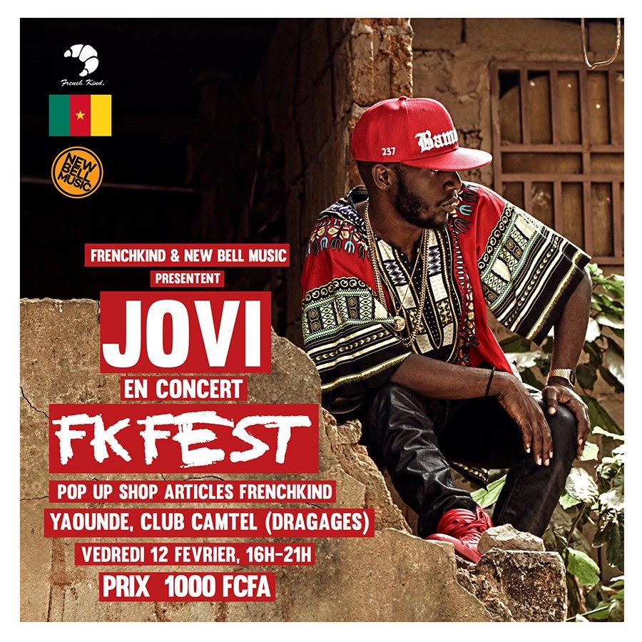@FrenchKind & @newbellmusic présentent @JoviLeMonstre en Concert le 12 Fevrier #FKFEST https://t.co/LuyV0rkjXt #CMR https://t.co/KsNEou9MCz