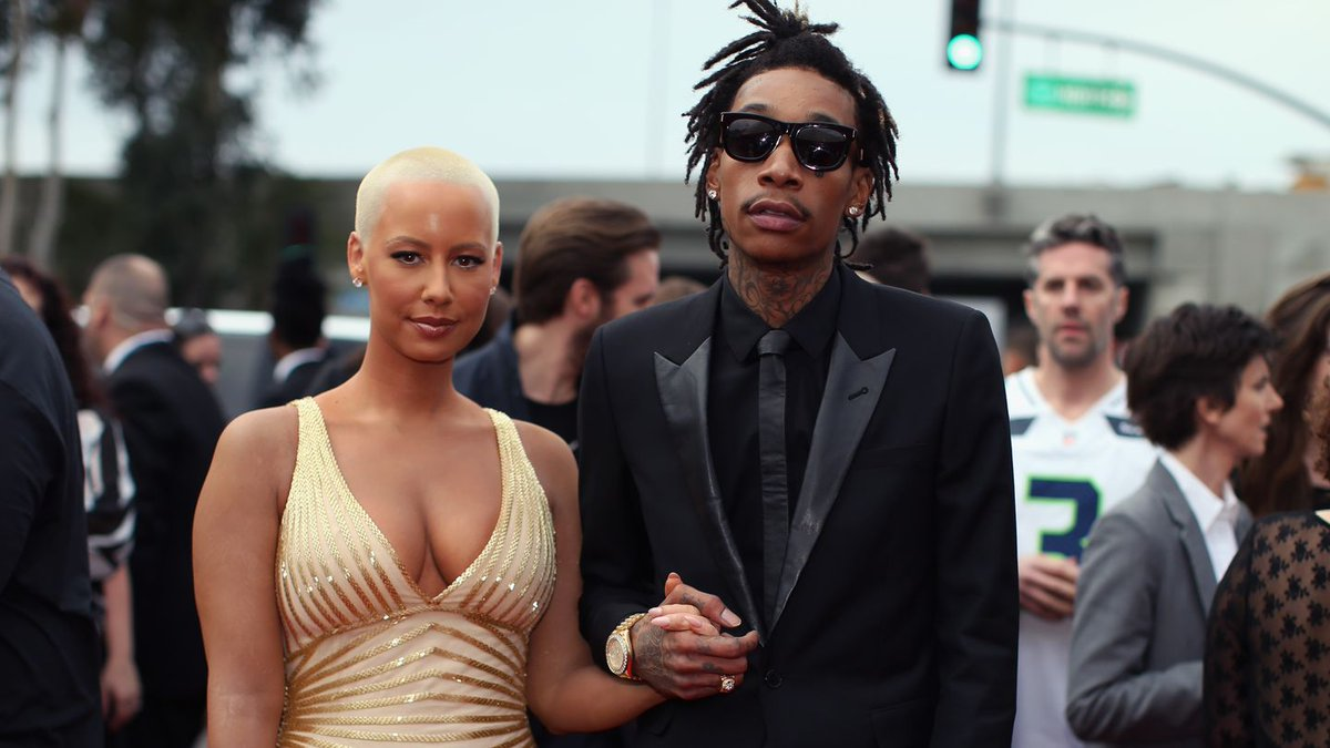 Amber Rose And Wiz Khalifa Both Respond (Again) To Kanye West — This Time With F-Bombs