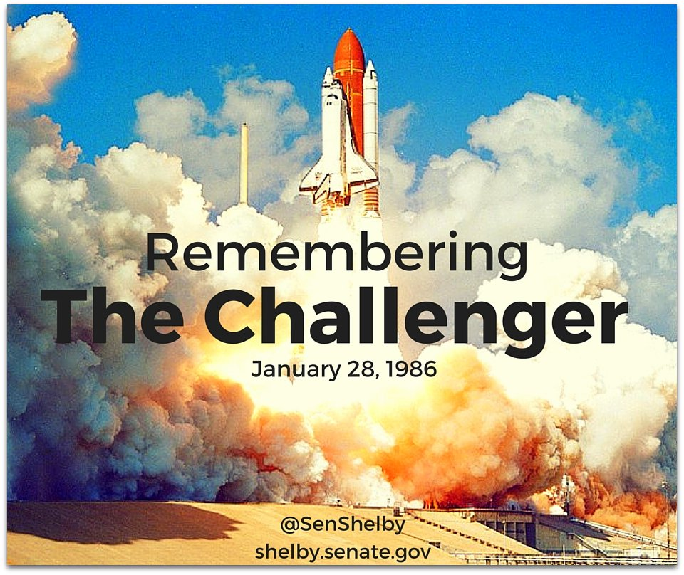 30 years ago today, the world witnessed a tragic nightmare when the #Challenger exploded & 7 brave lives were lost. https://t.co/dwX1sfykUt