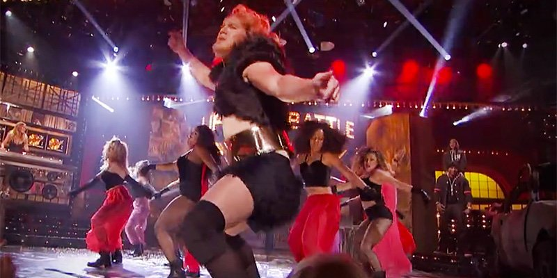 So about Channing Tatum's incredible LipSyncBattle performance ...