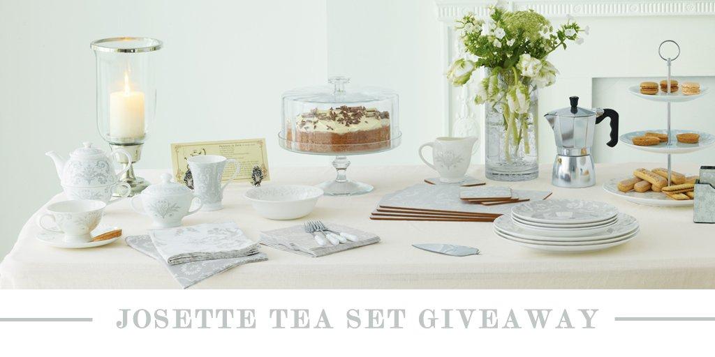 Love our Josette print? Retweet & follow for the chance to #WIN a Josette Tea Set bundle worth £150! https://t.co/h4W00BRvEn