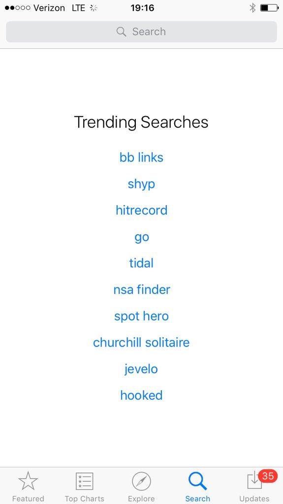 Holy fucking shit. The @hitRECord app is trending on the App Store. https://t.co/oRvkOHwAzJ