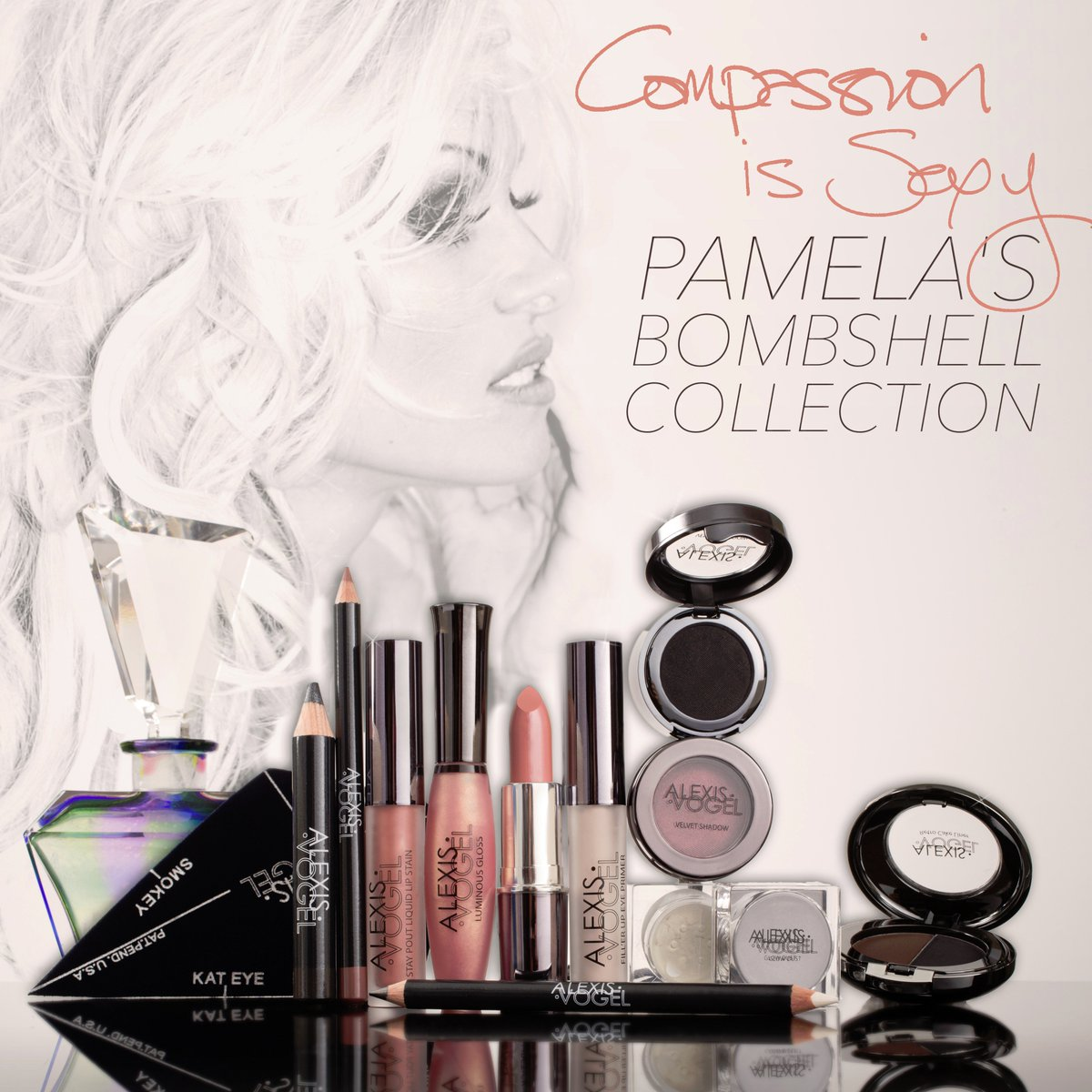 RT @alexisvmakeup: #Live# New Pamela's Bombshell Collection @alexisvmakeup portion of proceeds for the @pamfoundation !Valentine'sDay<3 htt…