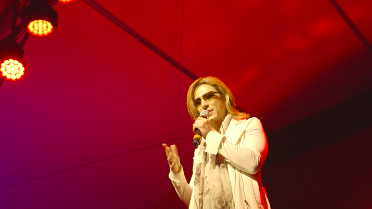 #TBT: @YoshikiOfficial's concert & convo the day before #WeAreX's #Sundance premiere. WATCH: https://t.co/KeFTOT64qL https://t.co/X7S9VMomR7