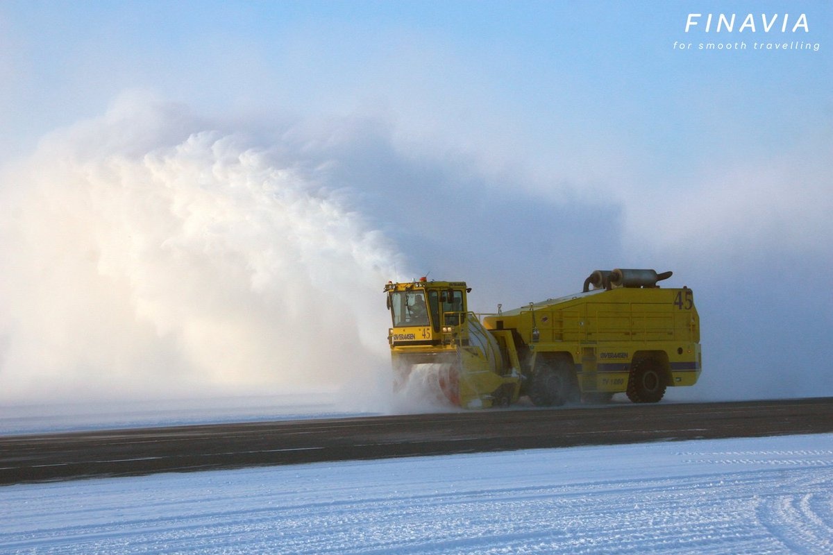 MT @HelsinkiAirport: One of the leading airports in the world when it comes to snowhow.
