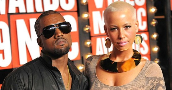 Kanye West responds to Amber Rose's NSFW tweets. 😁