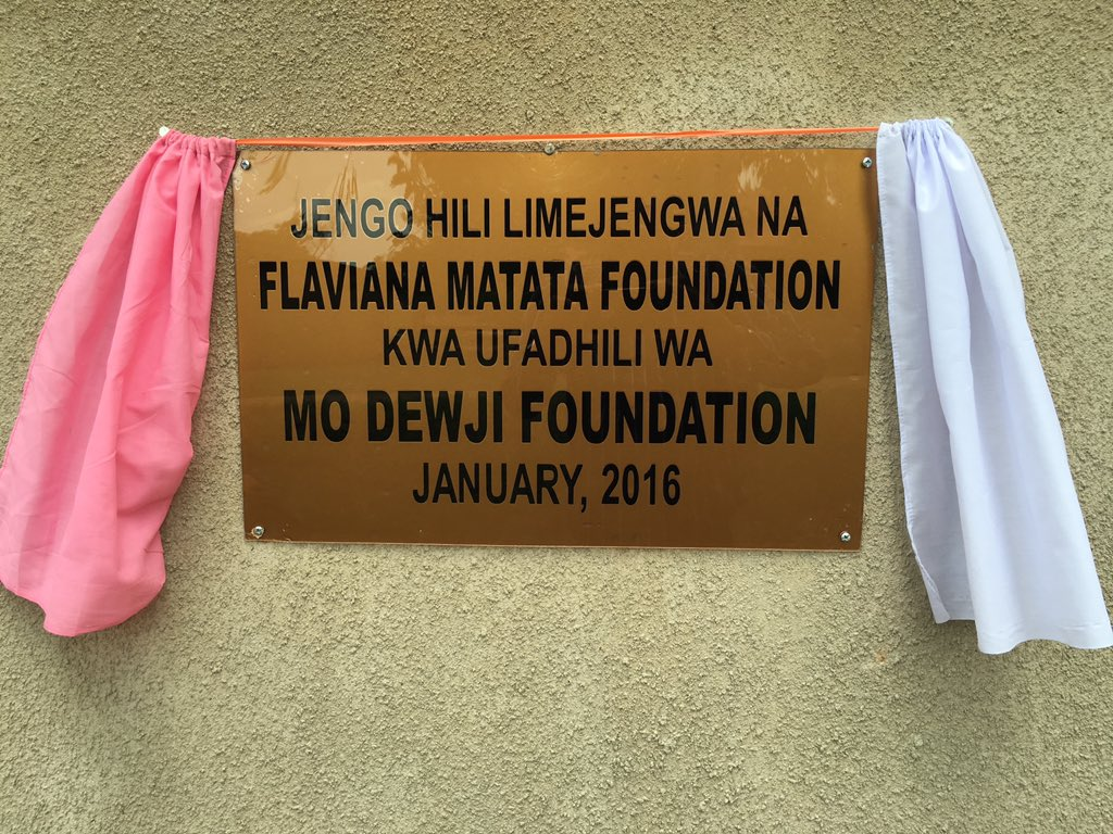 #FMFProjects2016 Handover of Toilet Blocks for Msinune Primary School donated by @DewjiFoundation #ElimuBora https://t.co/1qiNo9BdFU