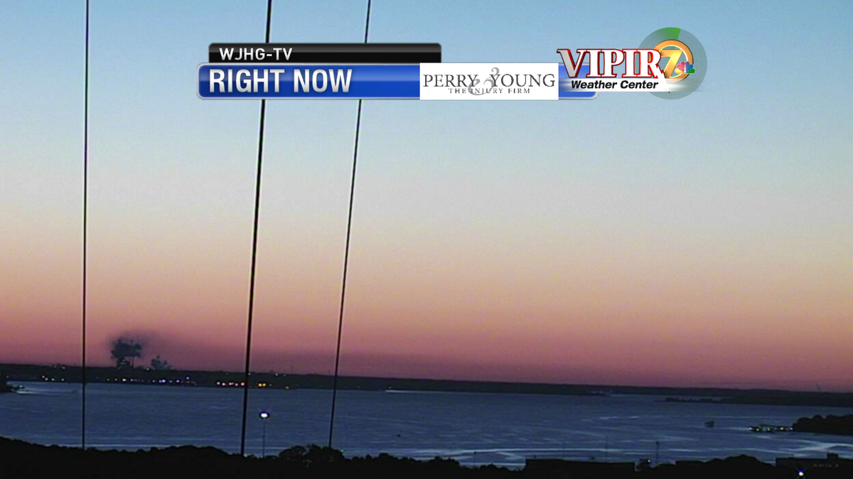 Were Zoomed In On Wjhg Tv Tower Cam And Awaiting The Return Of The