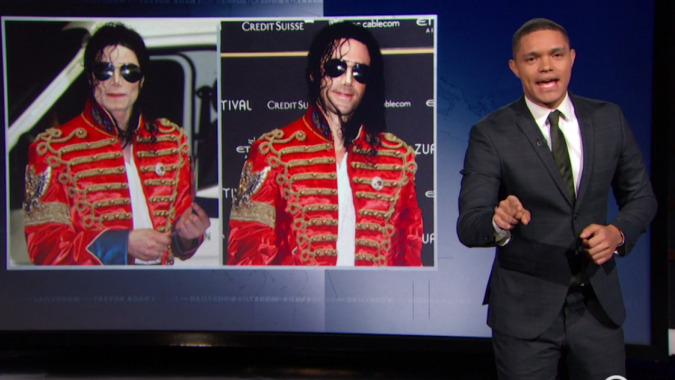 Trevor Noah mocks Joseph Fiennes being cast to play Michael Jackson