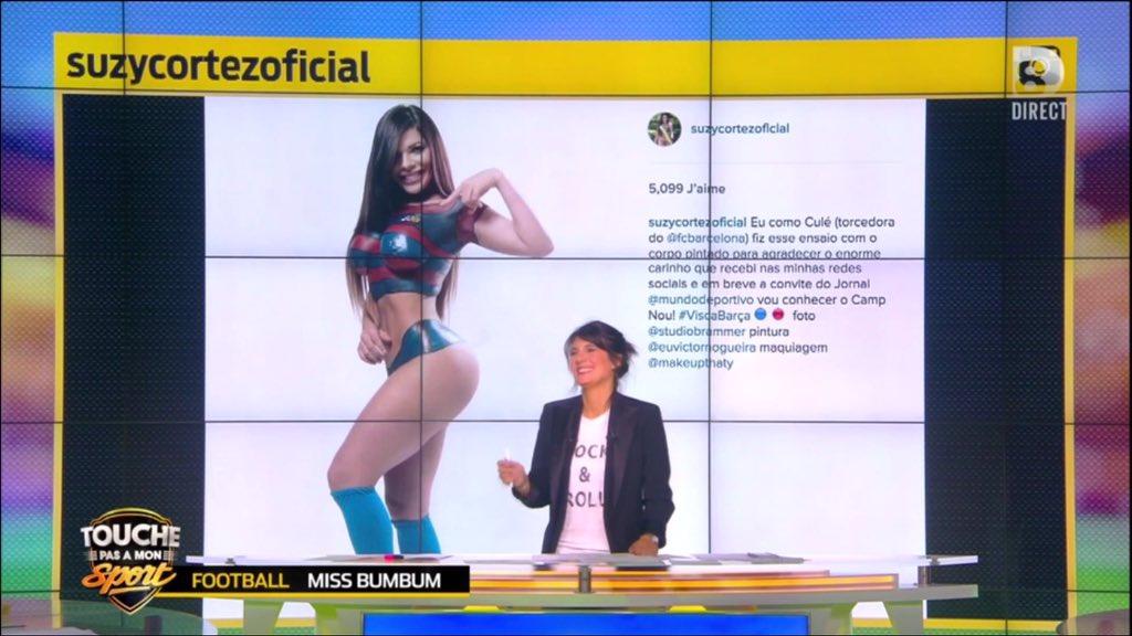 RT @TPMS: Miss Bumbum 2015 aux couleurs du Barça, elle vient du Brésil ! #TPMS https://t.co/Aq8XBMHWvV