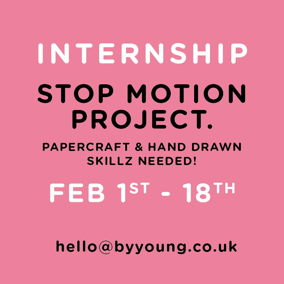 Please RT! #internship #animation #stopframe #manchester #papercraft #handdrawn https://t.co/h9F1eDUeD3
