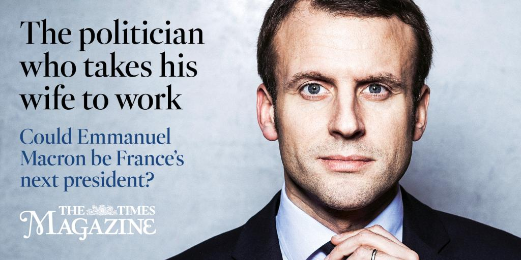 Meet @EmmanuelMacron, the man shaking up French politics - in the mag tomorrow https://t.co/KxR2jPLZvi