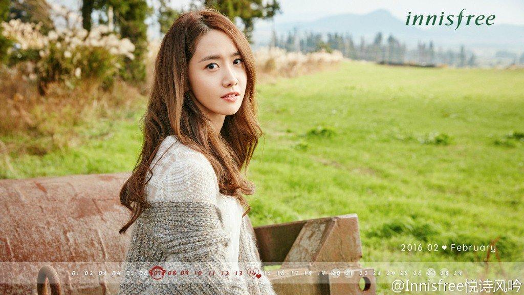 "SNSD Yoona for ""innisfree"" February Calendar 2016 https://t.co/zC1LWCq2Cw"