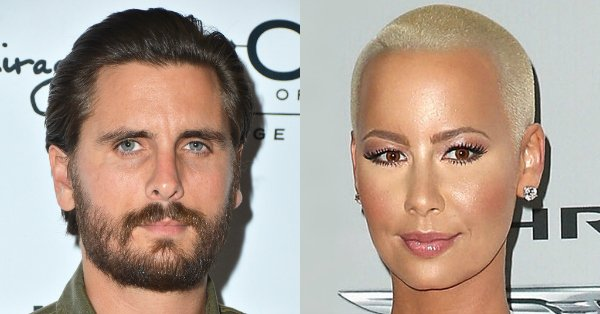 Amber Rose addresses rumors that she's dating Scott Disick: