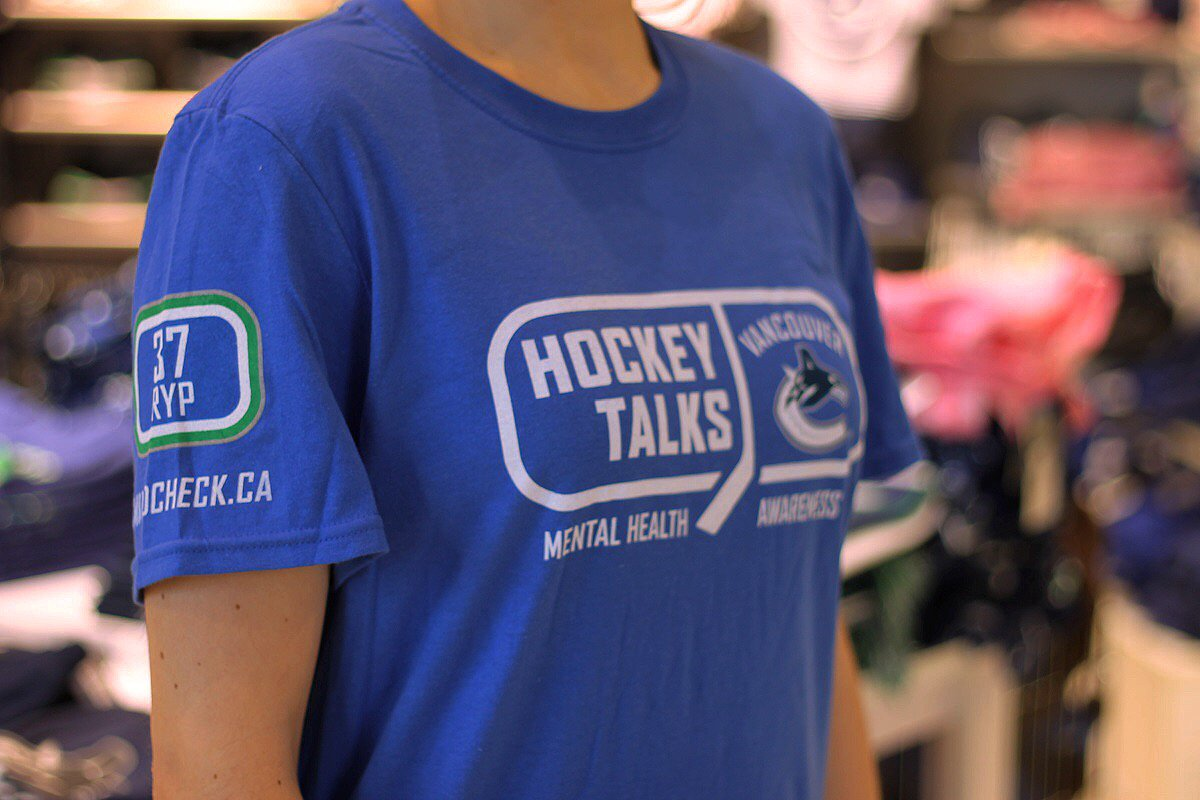 #HockeyTalks t-shirts are now available at our @RogersArena location. https://t.co/4SU49YLIiw
