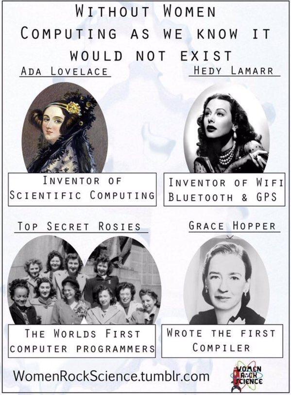 #WomenRockScience https://t.co/WCJZ6ANpTH