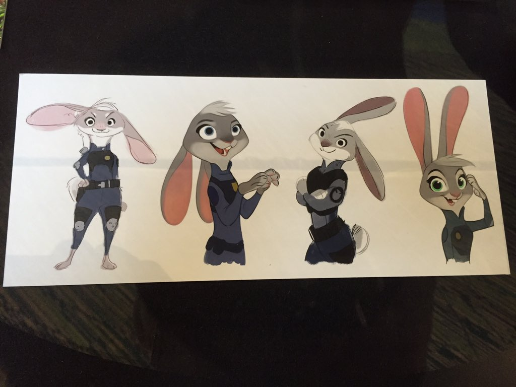 #Zootopia character art. https://t.co/1LHu8UZZSd