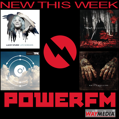 Adding new music this weekend @powerfm from @LaceySturm @redmusiconline @OfficialTFK & @MattyMullins https://t.co/rF9xe57IR9
