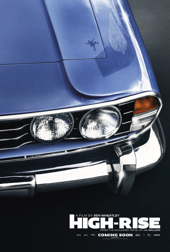 This my friends is how you do a film poster. #HighRise #Ballard Is that a Triumph Stag? https://t.co/h1Lup75UcM