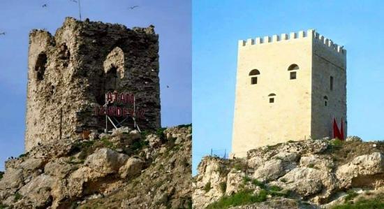 터키에서 2천년 전의 요새를 새 것처럼 만든다고 손을 본 결과물이라고 합니다. 어느 나라의 남대문(x) 숭례문(o)이 생각나네요... ㅠㅠ https://t.co/j8eyYrtH6J #사람_사는_세상_어딜_가도_똑같아요