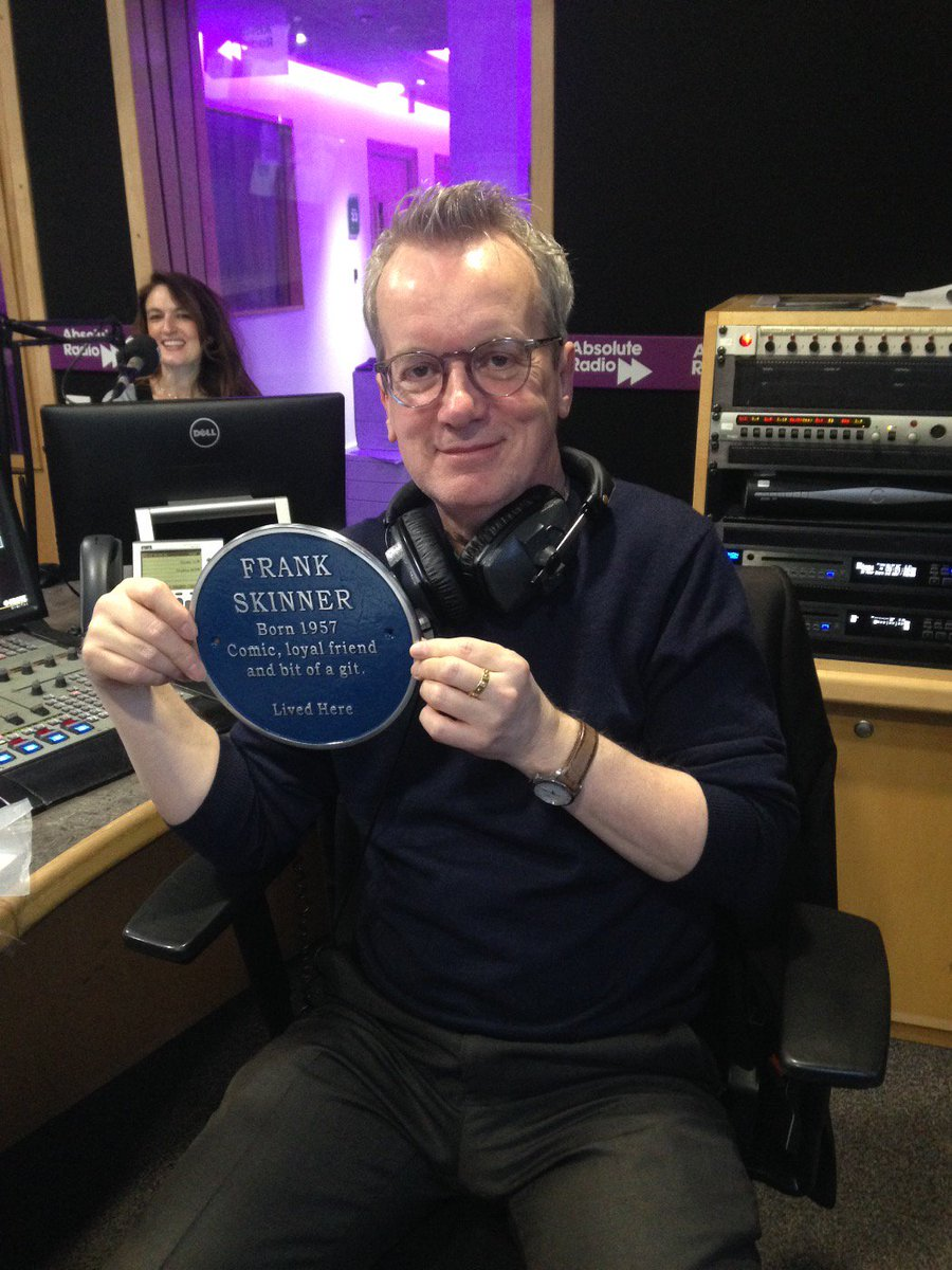 Frank Skinner.   Comic, loyal friend, bit of a git...   ...new glasses you say!? https://t.co/XH3ddujxdY