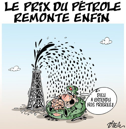 Le prix du pétrole remonte enfin! https://t.co/rF41i6vXJH