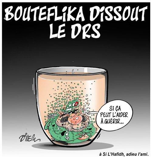 Bouteflika dissout le DRS! https://t.co/3Zz5iafGuP