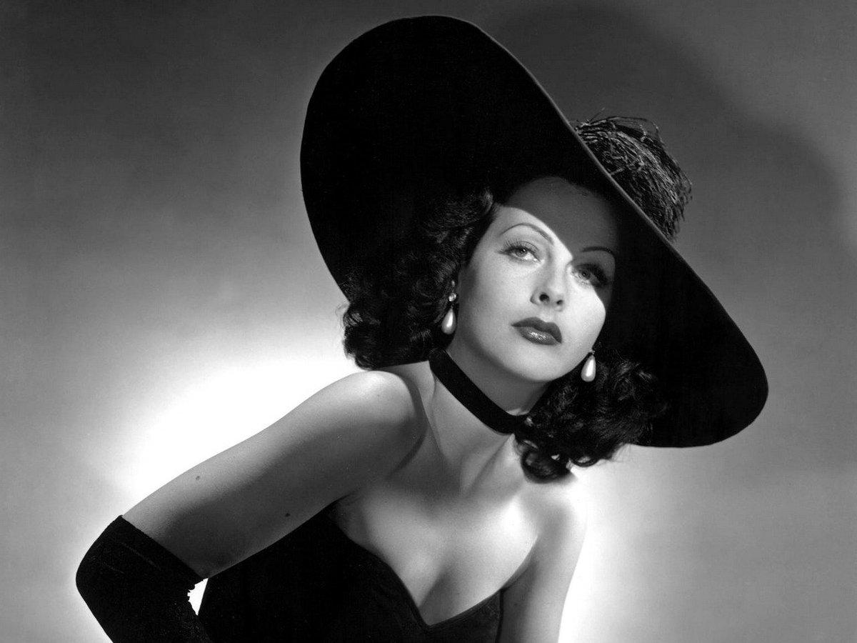 January 192000 Hedy Lamarr Austrian Born Actress Hollywood She