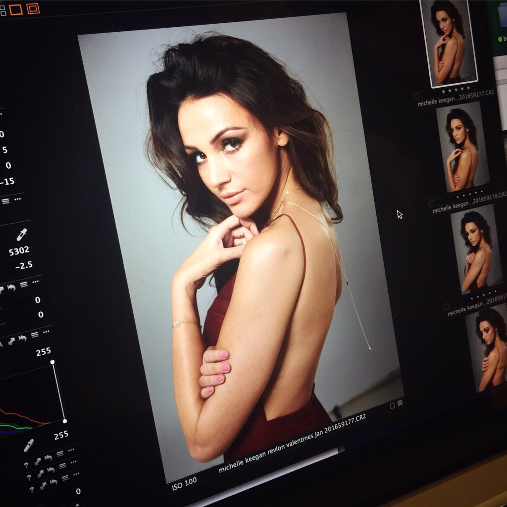 Seduction is on. Revlon x Michelle Keegan