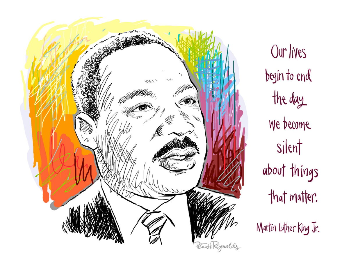 """""""Our lives begin to end the day we become silent about things that matter."""" - Martin Luther King https://t.co/PCkjKGDcYm"""