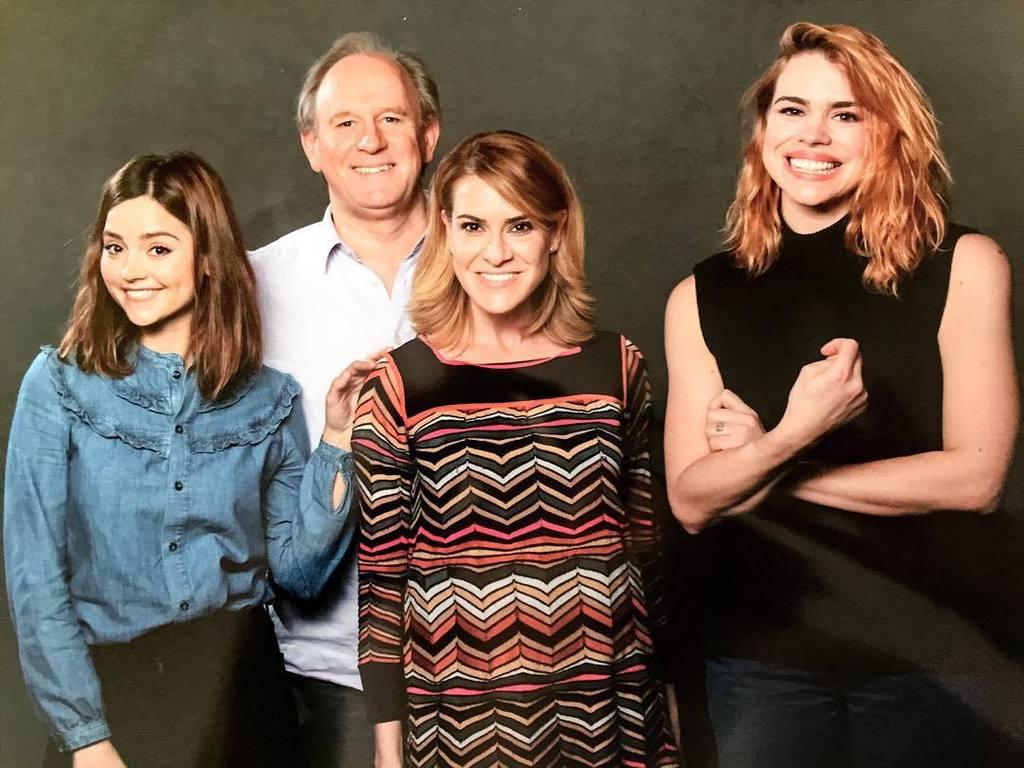 The highlight of my weekend: meeting Jenna Coleman, Peter Davison + Billie Piper. #doctorw… https://t.co/1oLEbpotXE https://t.co/aubFtjWv2f
