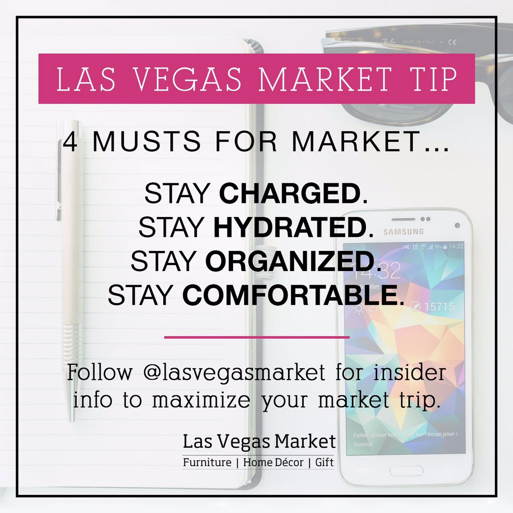 Market is less than a week away! Keep these tips in mind as you pack and prepare. #lvmkt #markettips https://t.co/YULskfw6B0