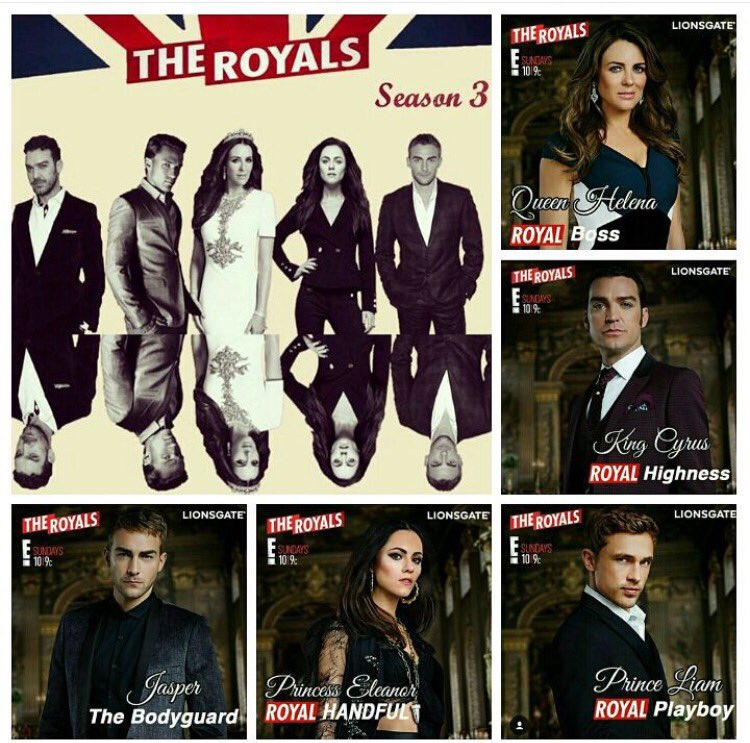 Thanks loyal fans of #TheRoyals. Here's to Season 3 @TheRoyalsOnE @LionsgateTV @williammoseley @AlexandraPark1