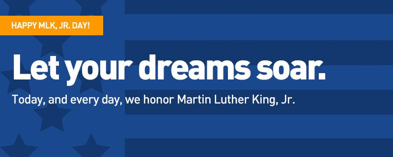 Happy MLK, Jr. Day!