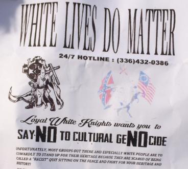 BREAKING: Anaheim residents wake up to KKK fliers trashing Martin Luther King, Jr. https://t.co/2GxWAyBRxF https://t.co/WoUbrksiiH