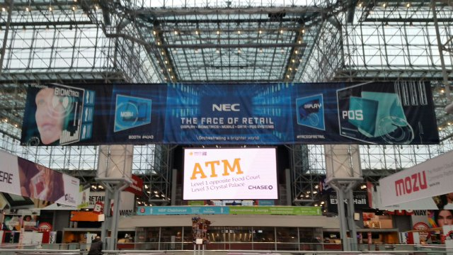Loss prevention solutions using integrated @NEC facial recognition tech; #biometrics #NRF16 booth 4143 https://t.co/yJS9pJbcSg