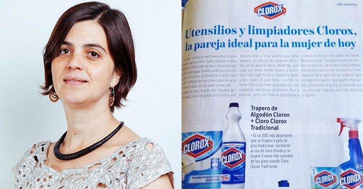 Ministra Claudia Pascual, criticó el estereotipo publicitario en campaña de Clorox https://t.co/Iz6mDLEz7M https://t.co/ta4ttFjTio