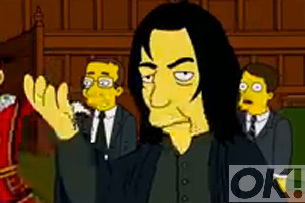 Have you seen Alan Rickman and David Bowie's tribute in The Simpsons?