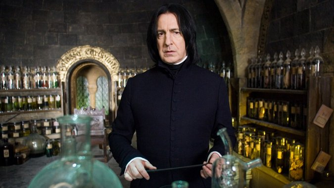 J.K. Rowling Reveals the Secret Information She Told Alan Rickman About Snape